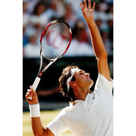 24Inx36in  Roger Federer Poster Print Entertainment Decor