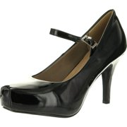 Delicacy Womens Cyndi-91 Ankle Strap Mary Jane Dress Pumps Shoes