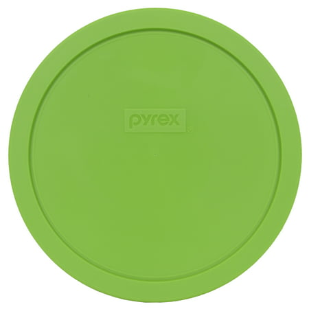 Pyrex Replacement Lid 7402-PC Green Round Cover for Pyrex 7402 7-Cup Bowl (Sold (Pyrex Green Square Flowers)