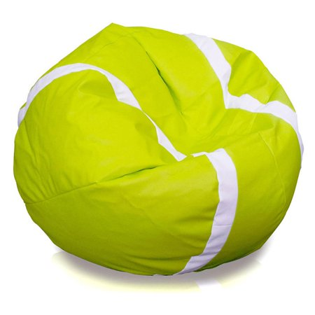 Turbo Beanbags Tennis Ball Large Bean Bag Chair