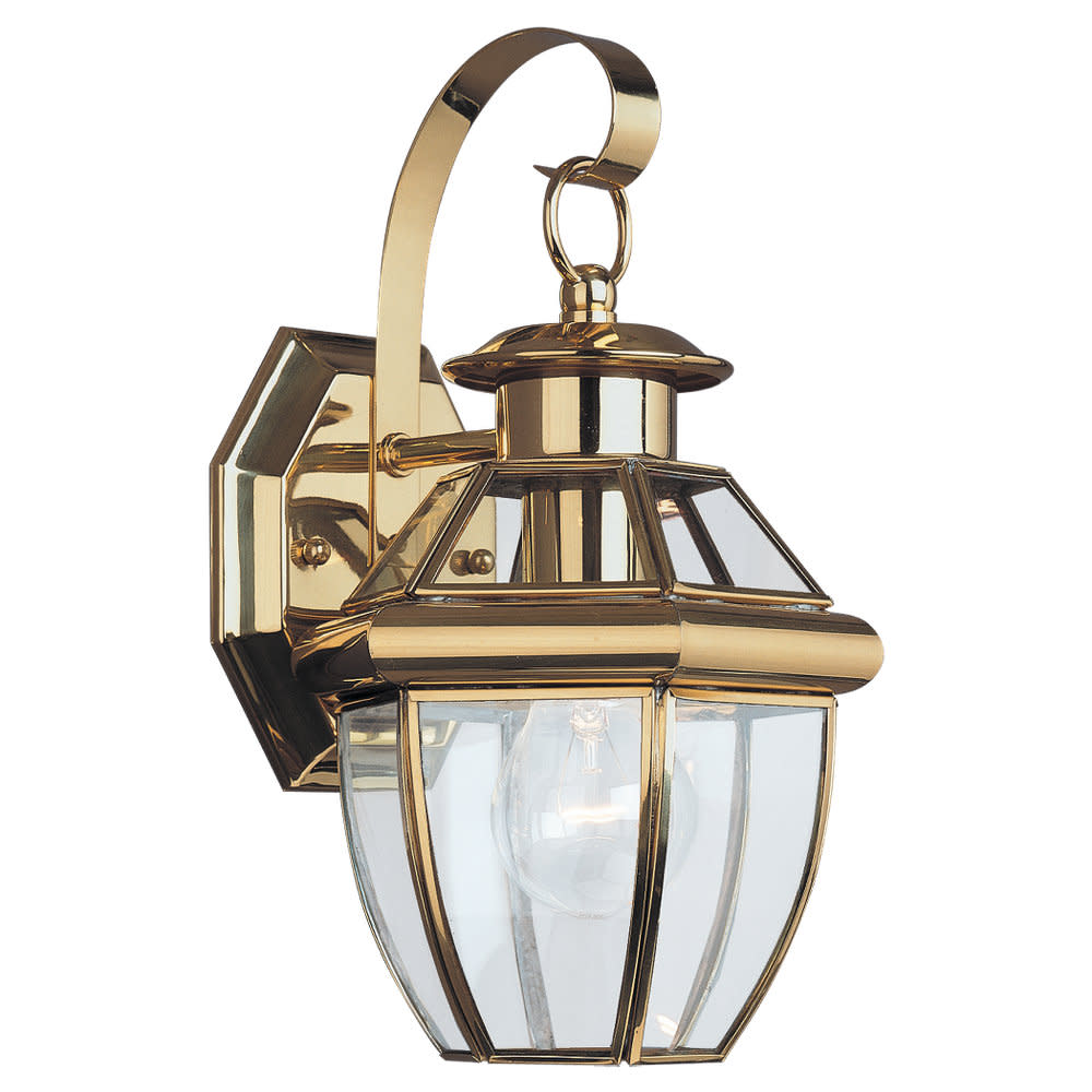 Sea Gull Lighting 8037 Lancaster 1 Light Outdoor Lantern Wall Sconce