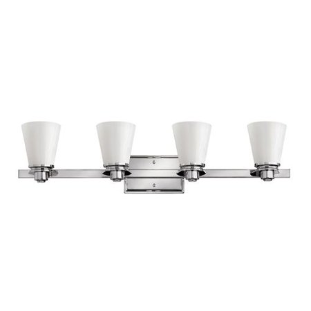 Hinkley Lighting 5554-LED 4 Light LED Bathroom Vanity Light from the Avon Collec