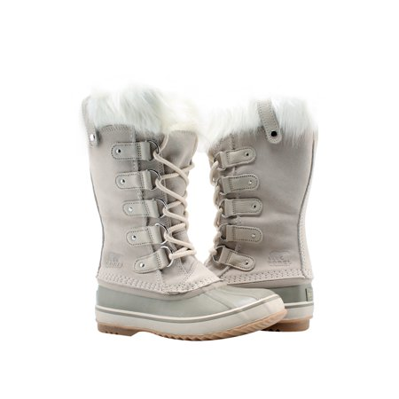 25efb0e71 Sorel Joan of Arctic Fawn White Women's Waterproof Snow Boots 1708791-920