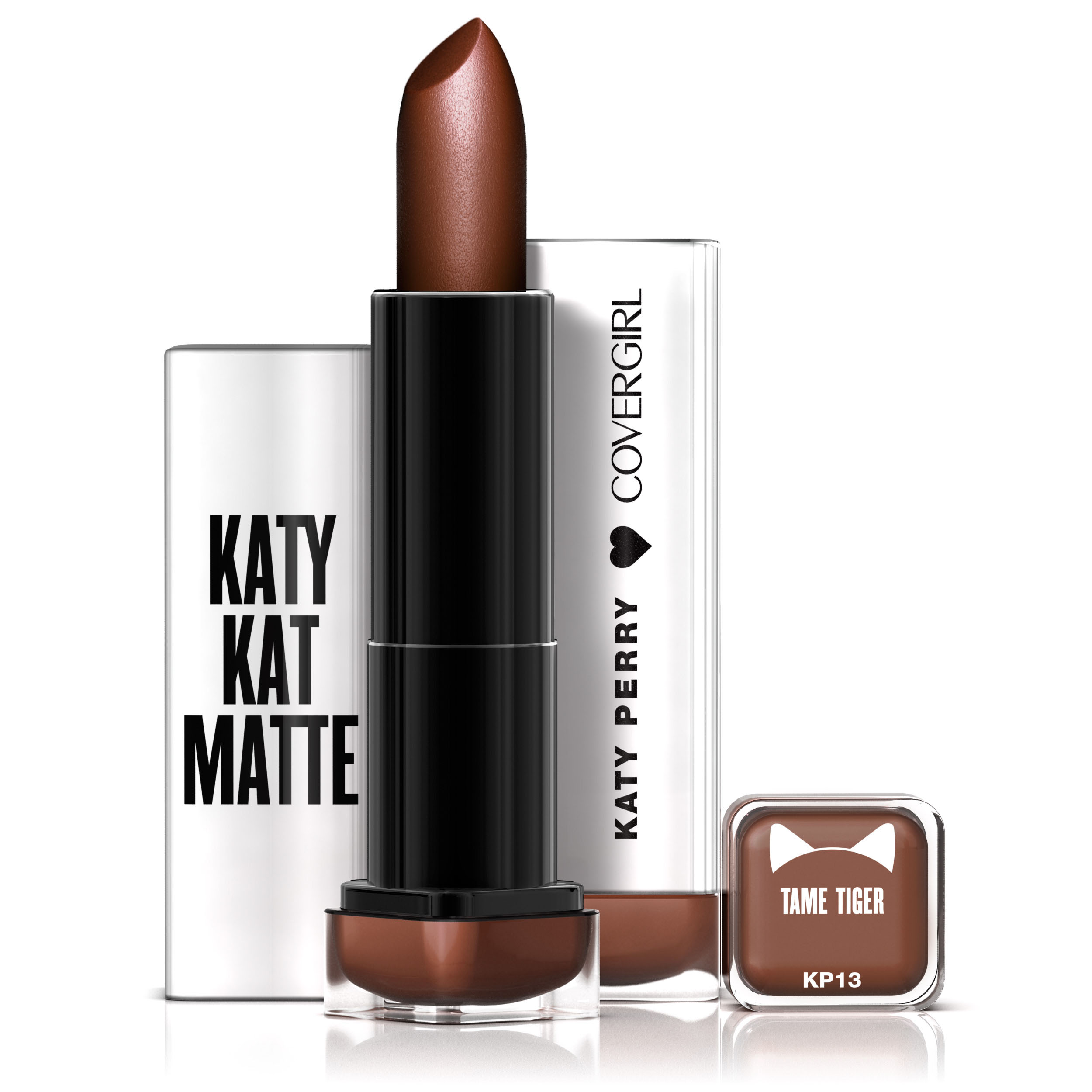 COVERGIRL Colorlicious Katy Kat Matte Lipstick Tame Tiger, .12 oz