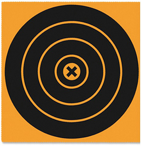 "BW Casey Big Burst 12"" Bull's-eye Targets, 25pk"