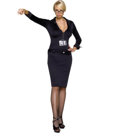 Popular Womens CSI Dress Theatre Costumes Small-Medium Medium-Large