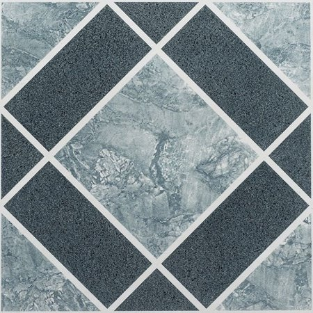 Vinyl Floor Tiles Self Adhesive Stick Flooring - Multi Pack Stone Designs