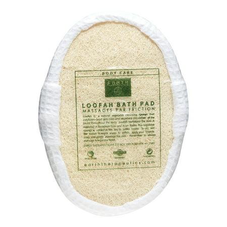 Earth Therapeutics Loofah Bath Pad 3x4 Pad 1 Pad