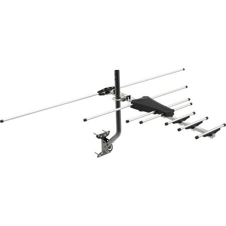 GE Pro Outdoor Yagi Antenna, 70 Mile Range, VHF/UHF Channels, -