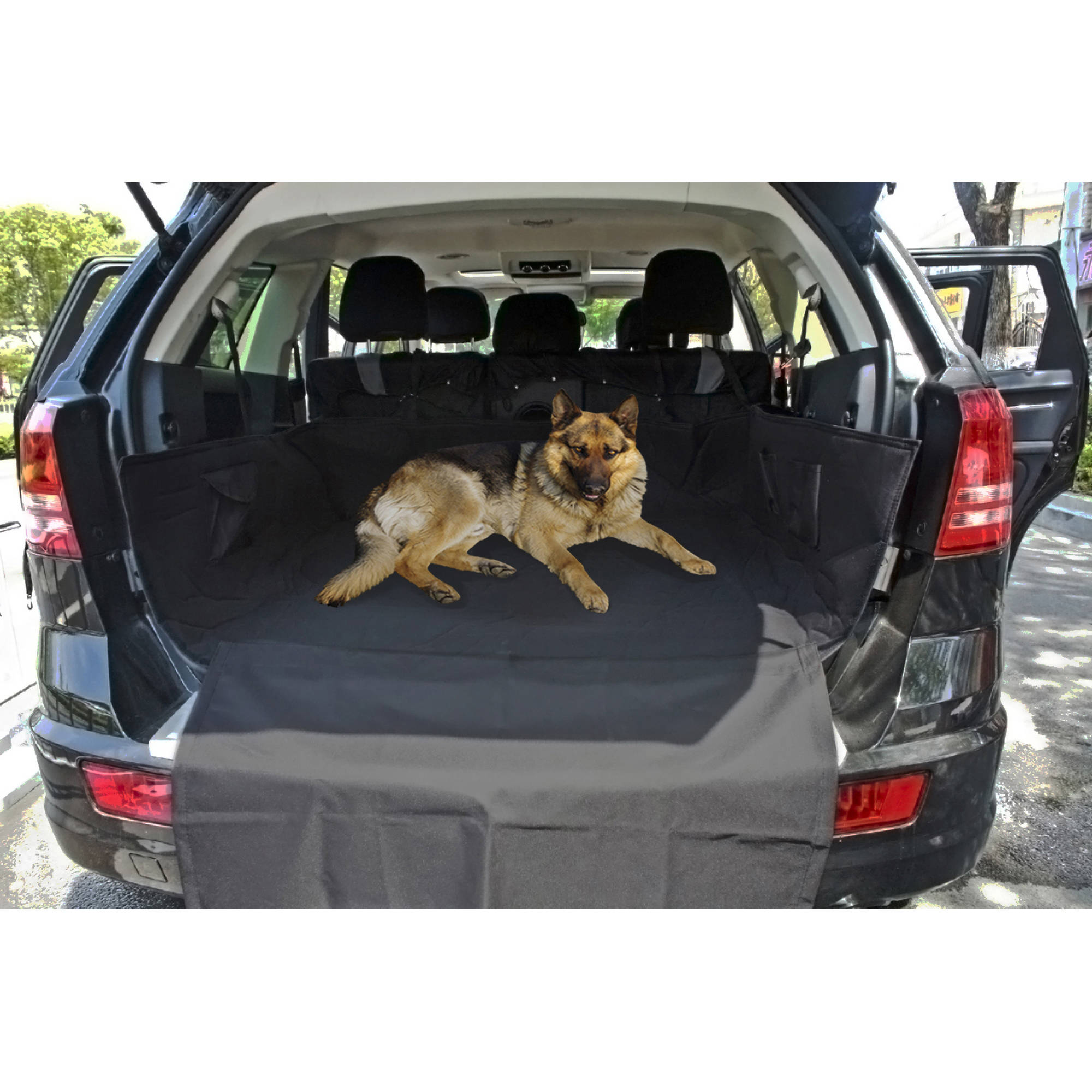 "OxGord Waterproof Car Seat Cover and Washable Trunk Cargo Liner, 64"" x 52"""