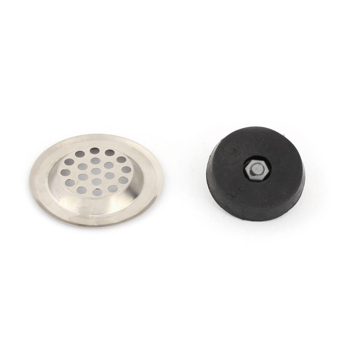 Kitchen Bathroom Stainless Steel Sink Strainer Disposal Basin Drain - image 2 of 3