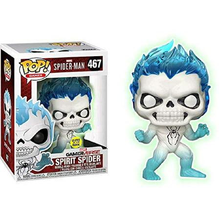 Funko POP! Games: Spider-Man - Spirit Spider [GITD] #467 - Walgreens  Exclusive!