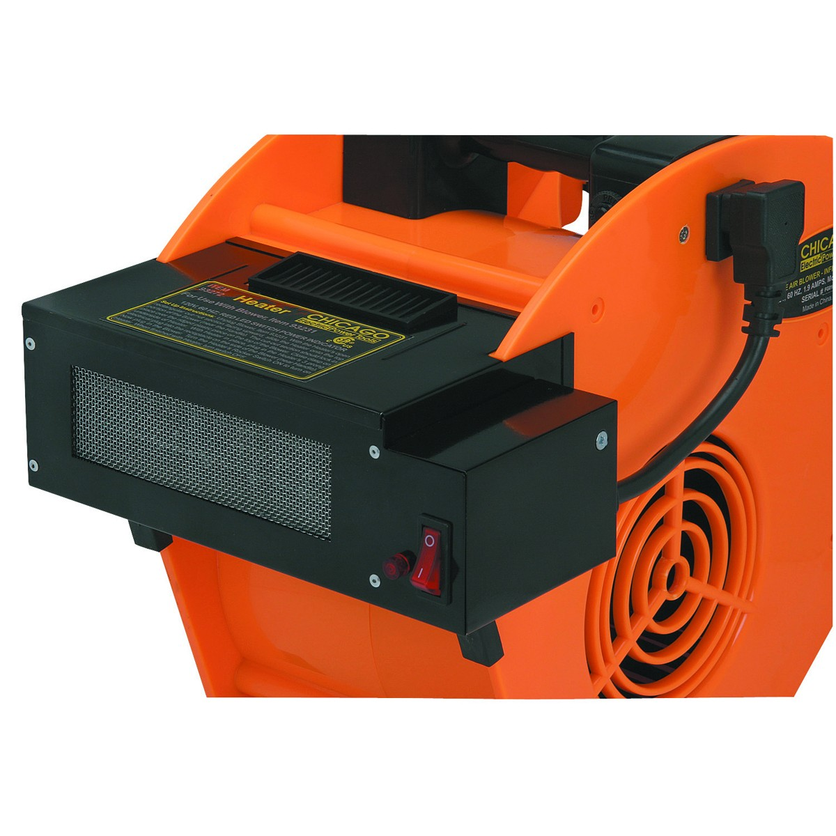 Chicago Electric Power Tools Heater Attachment for Portable Blower Steel 93272