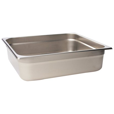 Browne  22234  4  Two Third Size Anti Jam Steam Pan  Ship Weight  2 59 Lbs  By Browne Foodservice Ship From Us