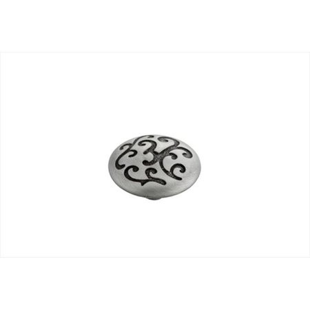 Hickory Hardware P3091-SPA 1.25 In. Mayfair Satin Pewter Antique Cabinet Knob