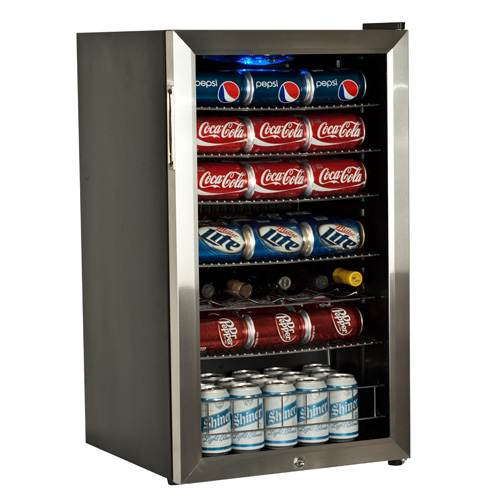 "EdgeStar BWC120LT 19"" Wide 103 Can and 5 Bottle Beverage Cooler with Ultra Low Temp Cooling"