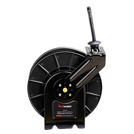 Air Max Ltd (ReelWorks  Steel Retractable Air Compressor/Water Hose Reel with 3/8