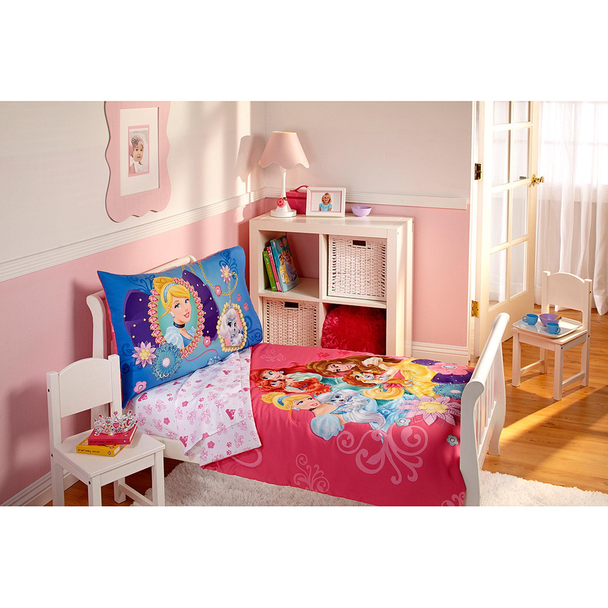 Disney Palace Pets 3pc Toddler Bedding Set with BONUS Matching Pillow Case