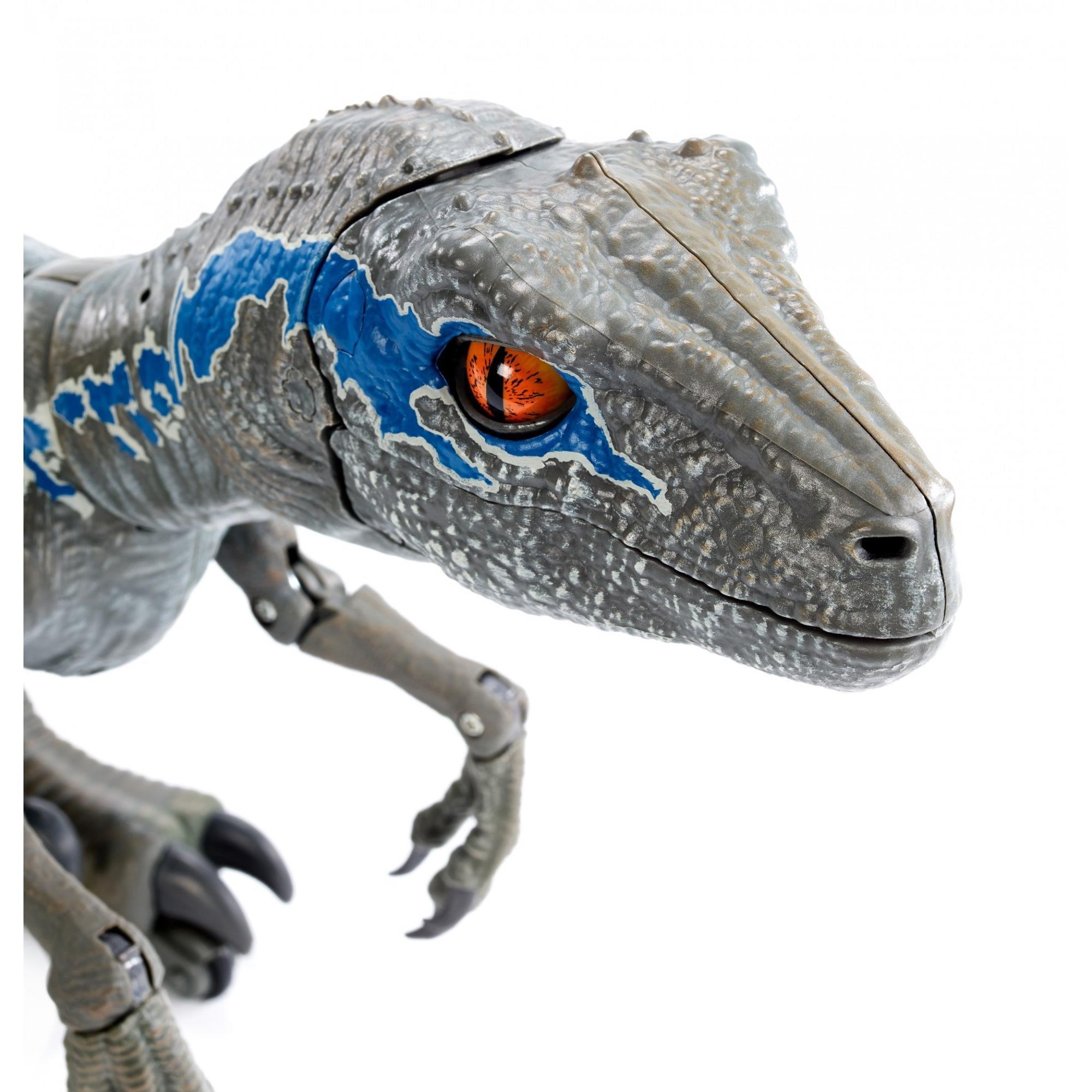 2018 Jurassic World Alpha Training Blue Hottest Velociraptor dinosaur Toy for 8