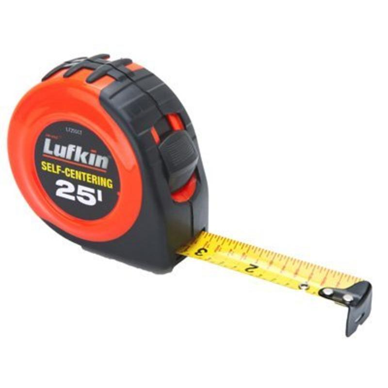 Self Center Tape, 25' Apex Tool Group Tape Measures and Tape Rules L725SCTMP