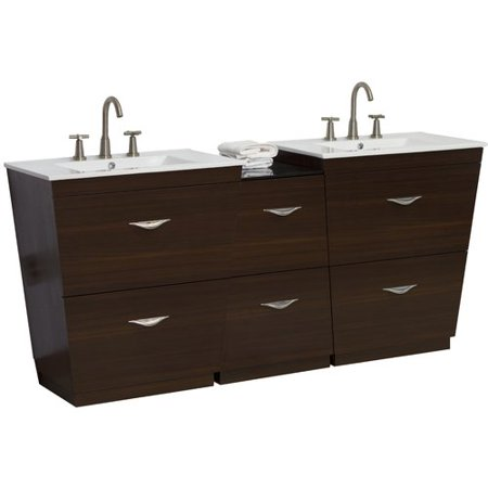 Magnificent American Imaginations 68 Double Bathroom Vanity Set Interior Design Ideas Philsoteloinfo