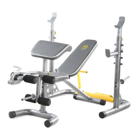 Gold's Gym XRS 20 Olympic Workout Bench with Squat (Best Bench Press Assistance)
