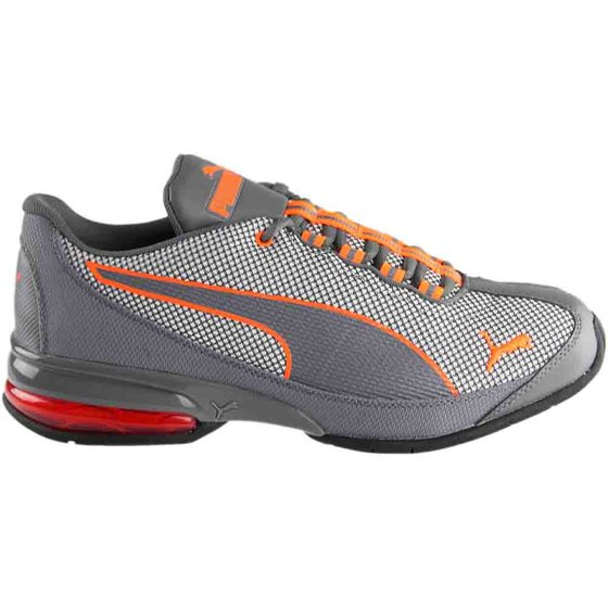 f39626b8a68d05 PUMA - Puma Men s Reverb Knit Quiet Shade   Shocking Orange Ankle ...