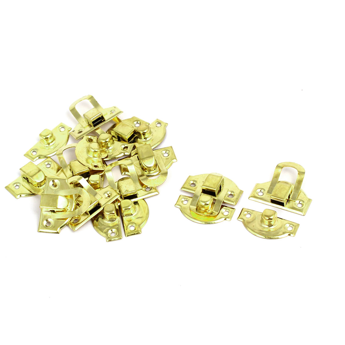 Toolbox Gift Box Buckle Latches Catch Toggle Hasp 29mm x 27mm 10PCS