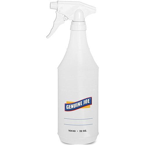 Genuine Joe Plastic Trigger Spray Bottle, 32 oz