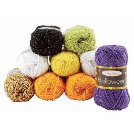 Herrschners® Halloween Bag of 10 Balls Yarn