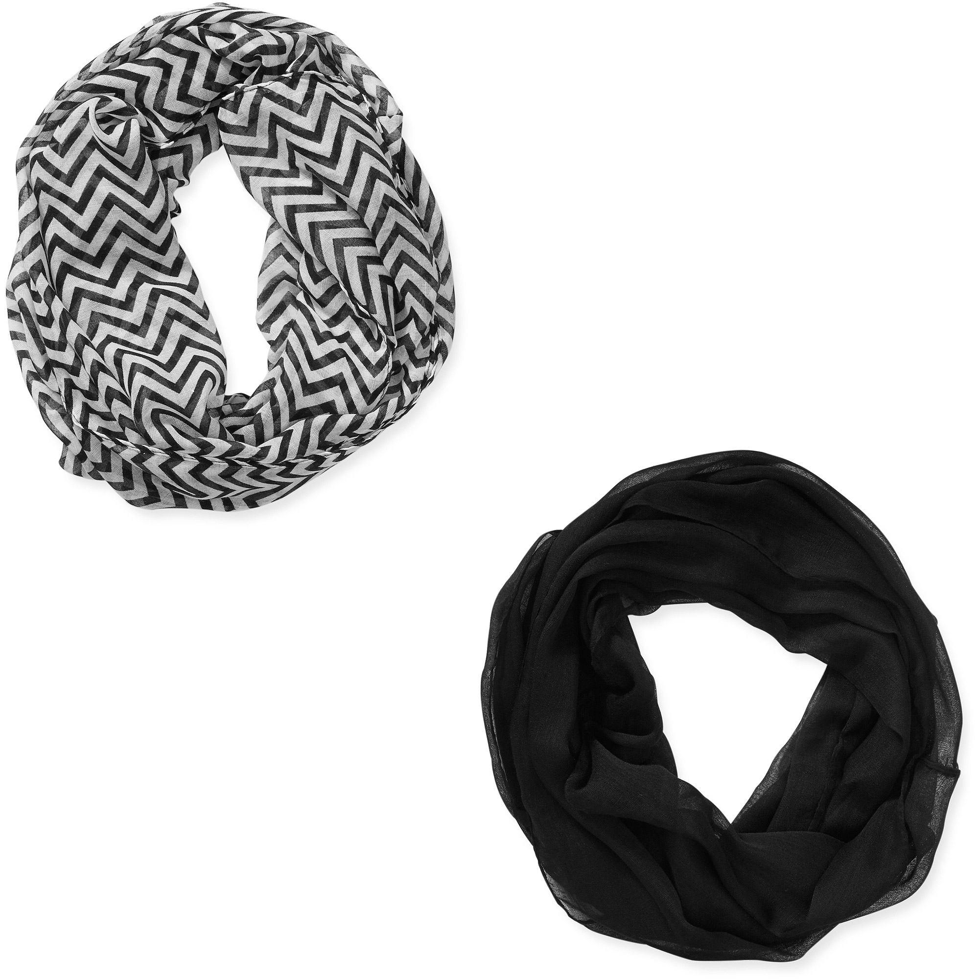 ^^women's Infinity Scarves 2 Pack