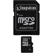Kingston 16GB microSDHC Class 4 Card