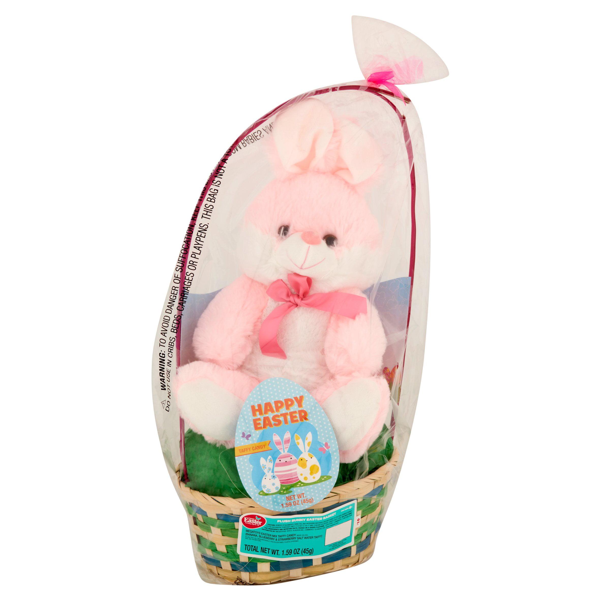 Easter basket with plush animal toy primrose taffy item or color easter basket with plush animal toy primrose taffy item or color may vary walmart negle Choice Image