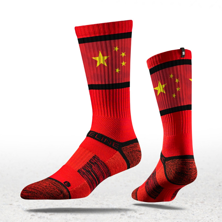 The Great Wall of China Socks Mens Womens Casual Socks Custom Creative Crew Socks