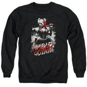 Batman Arkham Knight Quinn City Mens Crewneck Sweatshirt