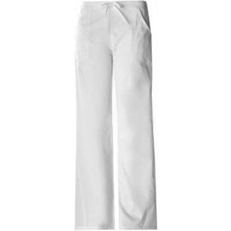 Cherokee 1072 Women's Pro-Flexibles Drawstring Scrub Pant White 5X-Large Cherokee Cherokee Drawstring Pull