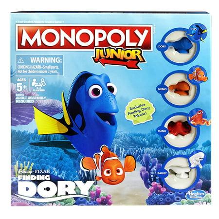 Monopoly Junior: Disney/Pixar Finding Dory Edition