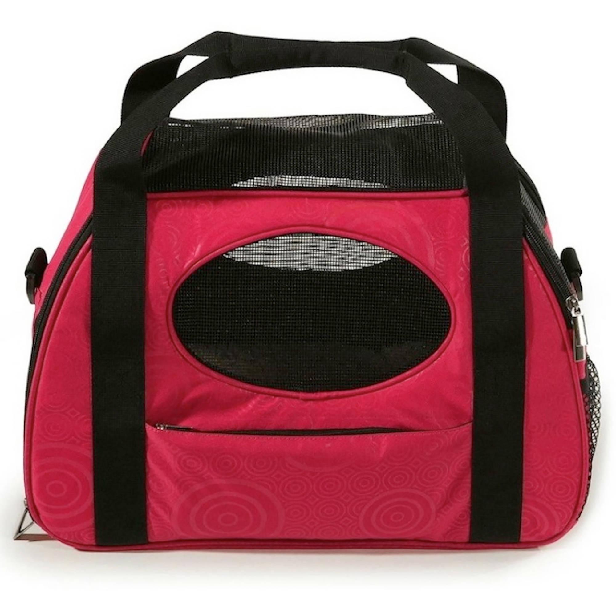 Gen7Pets Carry-Me Pet Carrier, Raspberry Sorbet