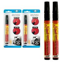2 Pc Auto Scratch Repair Marker Touch Up Pen Car Paint Wax Filler Remover Fix