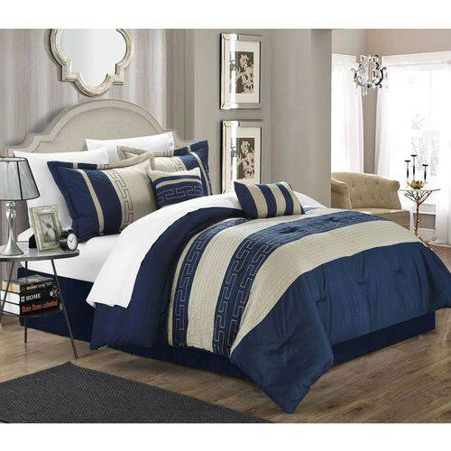 Chic Home Caleb 10-Piece Comforter Set