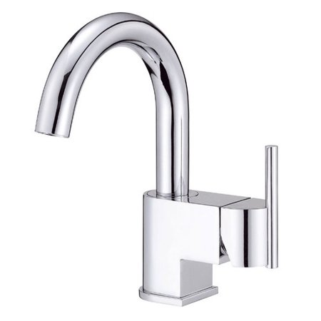 Danze I D221542 Como Single Hole 1-Handle High-Arc Bathroom Faucet with Side Handle in - Chrome High Arc Single Hole