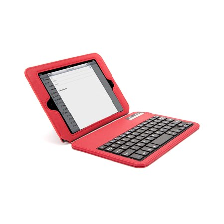 Buy Now Griffin Technology Slim Keyboard Folio Apple iPad mini, Red Before Special Offer Ends