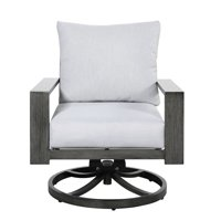 Pemberly Row Tjorn Outdoor Swivel Rocker Chair