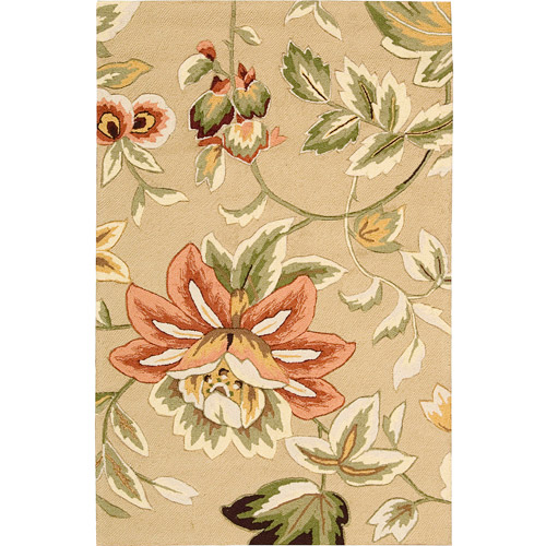 Nourison Fantasy Floral Images French Country Area Rug