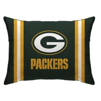 """Green Bay Packers 20"""" x 26"""" Plush Bed Pillow - Green - No Size"""