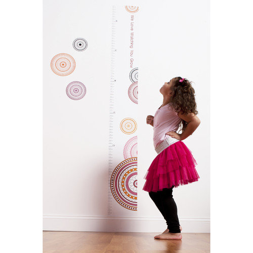 One Grace PLace Sophia Lolita Decal Growth Chart