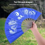 Yosoo Martial Arts Fan,Stainless Steel Tai Chi Martial Arts Kung Fu Dance Practice Training Performance Fan,Tai Chi Fan,Dance Fan