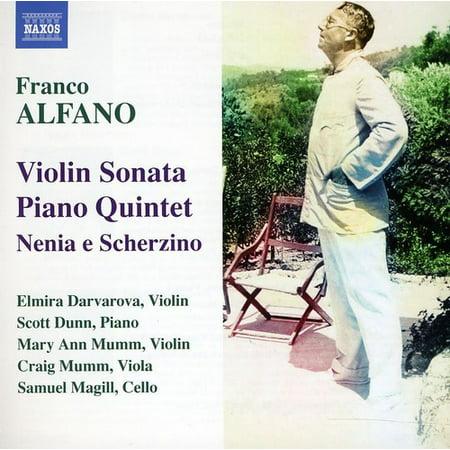 Violin Sonata / Piano Quintet / Nenia E Scherzino (Piano Quintet Violin)