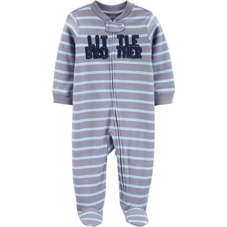 - Child of Mine by Carter's Zip-up sleep n play pajama (baby boys)