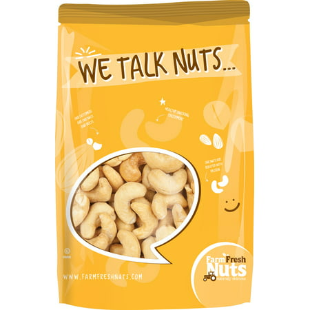 Farm Fresh Nuts Dry Roasted To Perfection and Salted Cashews (1
